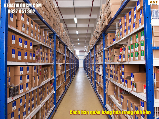 Cách bảo quản hàng hóa hiệu quả