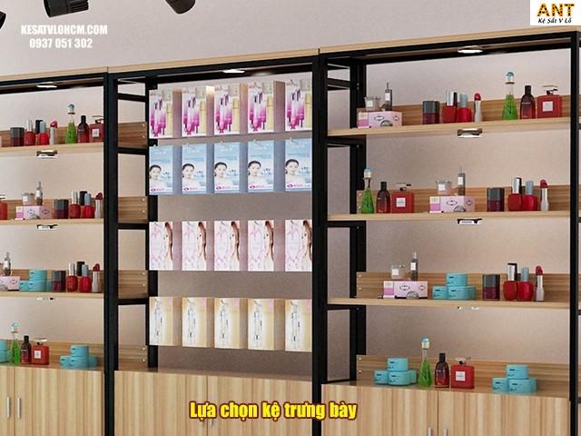 cách chọn mua kệ trưng bày