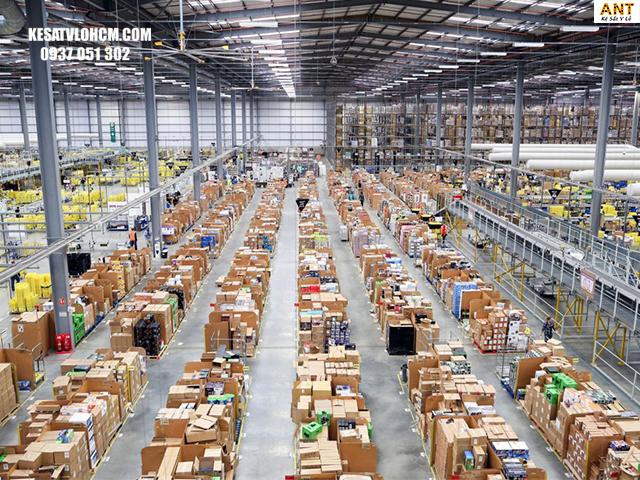 Nhà kho giúp quản lý hàng hóa