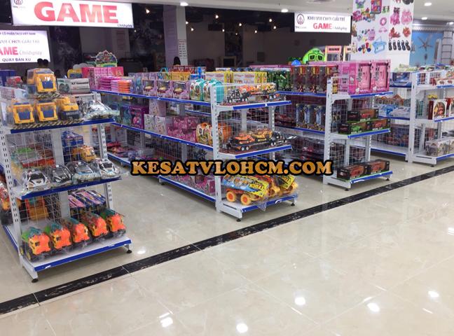 Cách bảo quản kệ siêu thị
