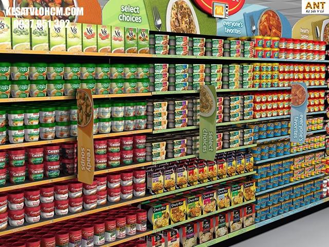 Ưu điểm của kệ siêu thị
