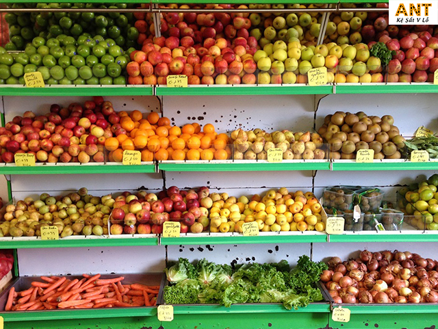 Kệ trưng bày trái cây giá rẻ