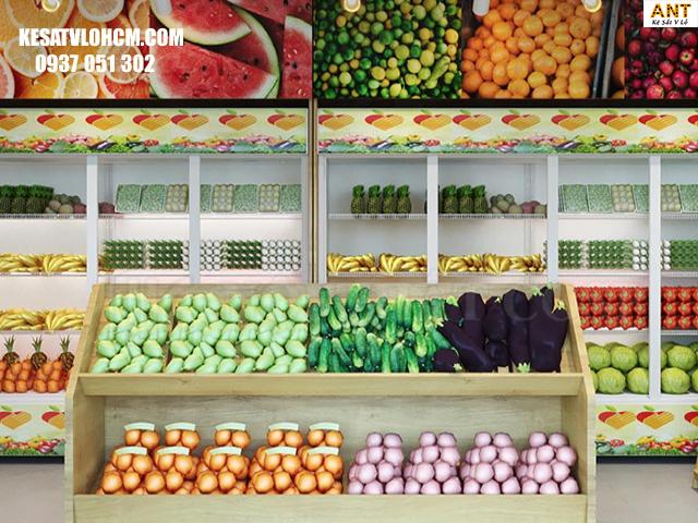 Kệ trưng bày trái cây đẹp cho mọi không gian