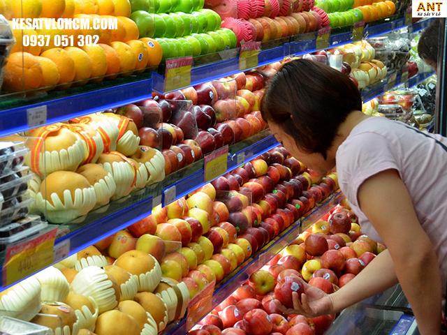 Cách trưng bày trái cây trông thu hút hơn