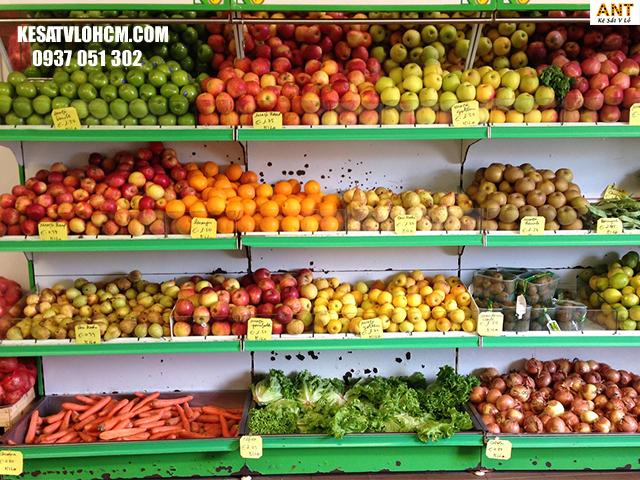Kệ trưng bày trái cây ưa chuộng nhất